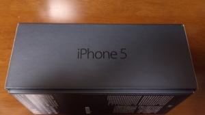 iPhone5の外箱側面