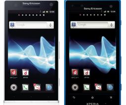 Xperia NXとXperia acro HD