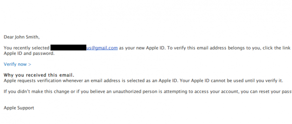 Verify your Apple ID