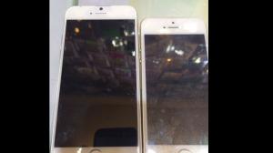 「iPhone 6」4.7インチモデルとみられる画像がリーク、5sとの前背面比較画像からわかる変更点