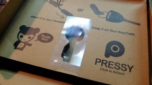 ついに日本に到着!Androidスマホに物理ボタンを追加する「Pressy」をレビュー