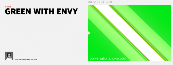 Nokia X2カウントダウン