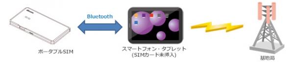 ポータブルSIMの図解