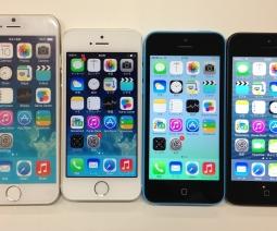 iPhone 6のモックと過去iPhoneの比較