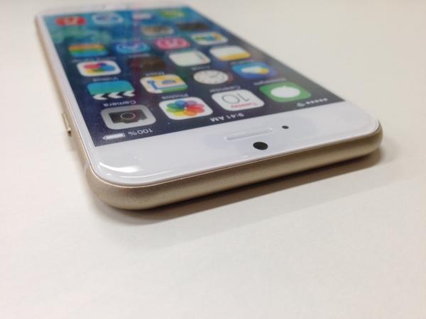 iPhone 6 モックアップ上面