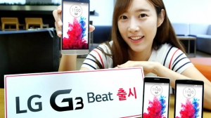 LG、LG G3のコンパクトバージョン「LG G3 Beat」を発表