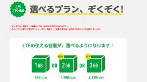 au網を利用したモバイルデータ通信「mineo」、8月5日よりプランの選択が可能に
