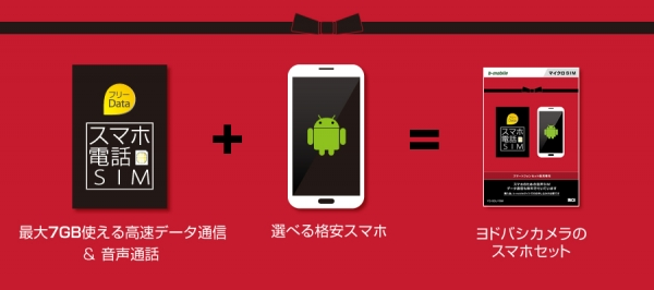 ヨドバシ、日本通信との提携