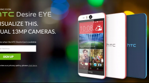 HTC、自撮り特化の1300万画素インカメラ搭載「Desire EYE」と自撮りを強化する「EYE Experience」を発表