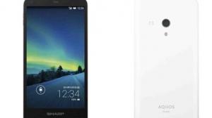 シャープ、MVNO向けスマートフォン「AQUOS SH-M01」発表 楽天モバイルで取り扱い開始