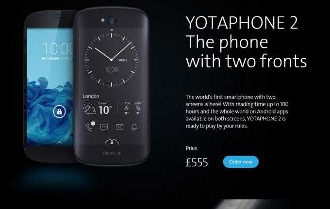 Yota Phone 2