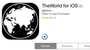 スタイリッシュな人気Twiterクライアント「TheWorld for iOS」がついにiPad対応へ