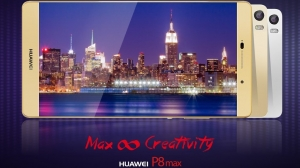 Huawei公式Twitterが端末画像を公開 「Huawei P8max」近日発表か