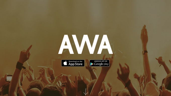 AWA   音楽配信アプリ
