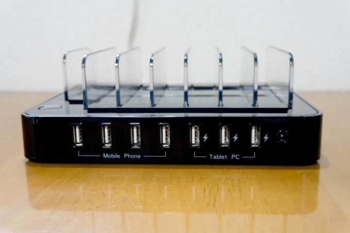 satechi 7台同時充電ステーション (1)
