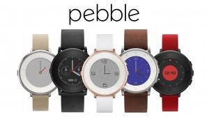 Pebble、世界最薄最軽量の丸型スマートウォッチ「Time Round」を発表