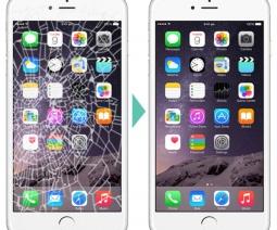 iphone6 screen broken