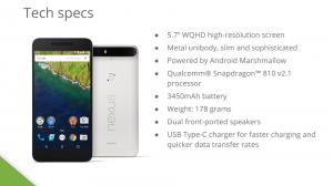 Nexus 6Pに関するほとんど全ての情報がリークされる