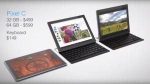 Google、Surface対抗のハイスペックタブレット「Pixel C」を発表 ー11月発売予定