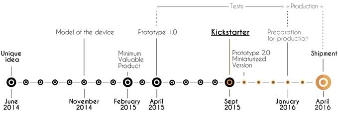 unique project timeline