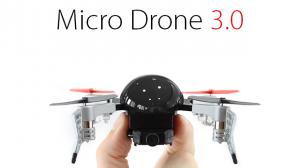 目標額の30倍もの資金を集めた超小型ドローン「Micro Drone 3.0」