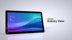 18.4インチディスプレイを搭載する大型タブレット「Galaxy View」の画像がリーク