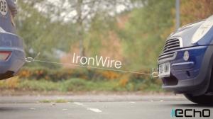 車も引っ張れる! 絶対に切れないとの自信を持つLightningケーブル「IronWire」がクラウドファンディングに登場
