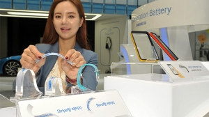Samsung、ウェアラブルデバイスの駆動時間を50%以上延長可能な新型バッテリーのプロトタイプを公開