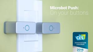 無限の可能性! スイッチを押すだけの遠隔操作ロボット「Microbot Push」で家中すべてのボタンがスマホから操作可能に