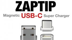 磁力で取り外し可能にするUSBコネクタ「ZAPTIP」にUSB-Cタイプが登場