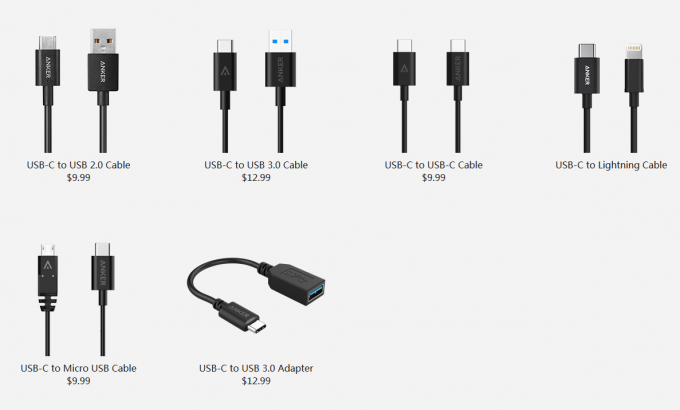Anker USB-C Cable