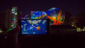 日本初のAR技術とプロジェクションマッピングのコラボ「ブラザー グリーンクリスマス 2015」