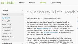 Android月例セキュリティアップデート(2016年3月)がリリース、「Mediaserverにおけるリモートコード実行の脆弱性の修正」他