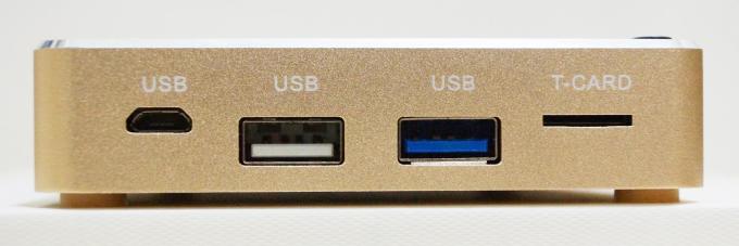 microUSB・USB2.0・USB3.0・microSDカードスロット