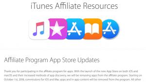 2018年10月でApp Storeアフィリエイトが終了 -SMART GAMEやリフレクなど課金還元サービスはどうなる